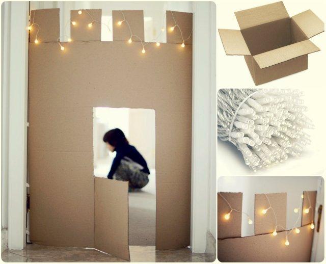 262BFGP_caja de cartón con luces se convierte en castillo por reinventa12